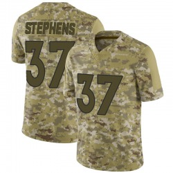 Limited Linden Stephens Youth Denver Broncos Camo 2018 Salute to Service Jersey - Nike